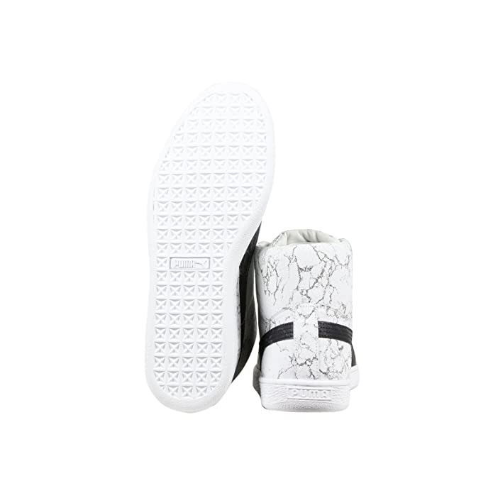 c787982bf47c Puma States Mid x Alife Marble Mens White Leather High Top Trainers Shoes   Amazon.co.uk  Shoes   Bags