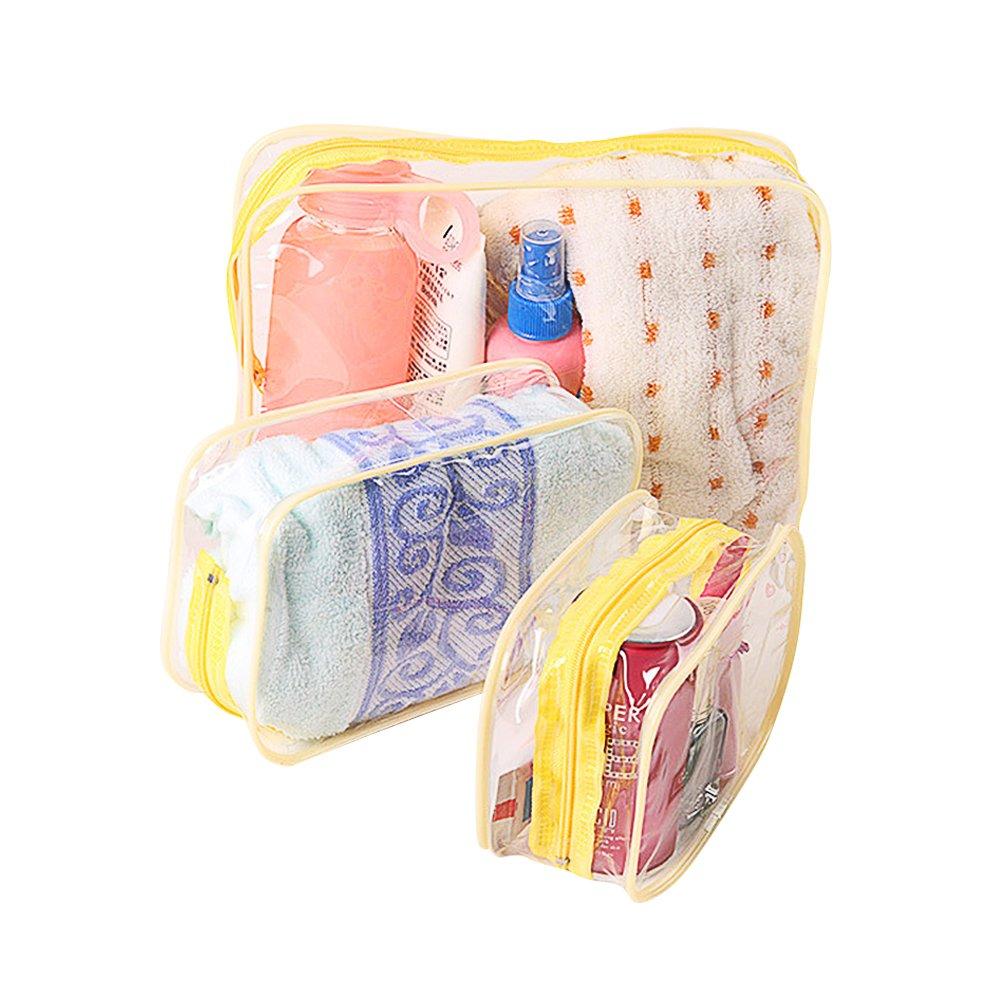 Skyeye 3 St/ück PVC Transparent Aufbewahrungstasche Kosmetiktasche Outdoor Reise Wasserdicht und Staubdicht Lagerung Wash Bag EIN kleines Gro/ß Mittel Kleins