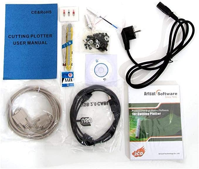 Trazadores de corte 720 mm, diapositivas neutralware, trazadores, pie de + accesorios ArtCut Software: Amazon.es: Electrónica