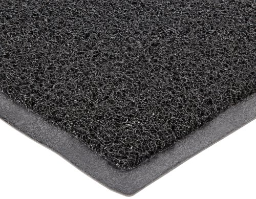 Durable DuraLoop Indoor/Outdoor Entrance Mat, 4' x 6', Black
