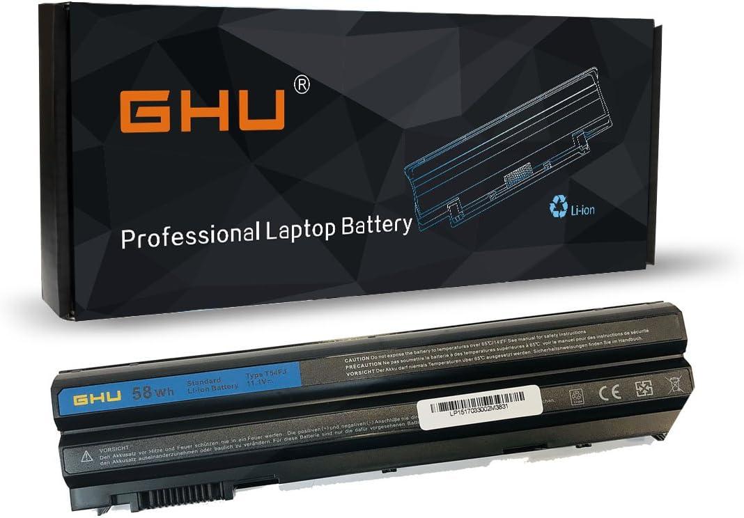 New GHU Battery 60 Wh 6-Cell Compatible with Dell Latitude E5430 E5530 E6420 E6430 ATG E6530 Laptops (NH6K9) 312-1242 NHXVW PRRRF UJ499 YKF0M X57F1 04NW9 8858X KJ321 M5Y0X P8TC7 P9TJ0