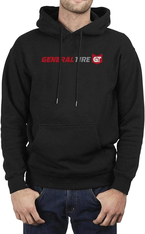 TYYIN General-Tire-Logo Mens Fashion Pullover Hoodies Long Sleeve Sweatshirts Pockets