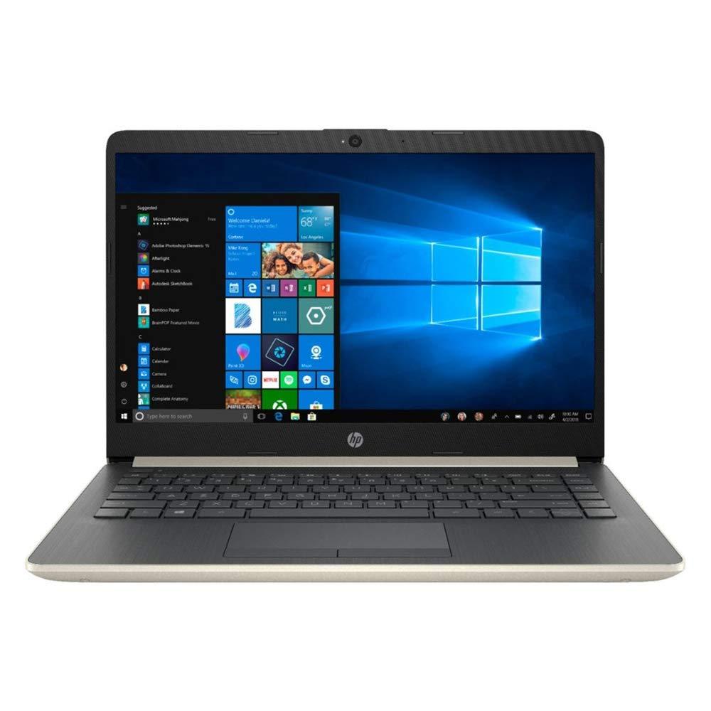 2019 Newest HP Premium 14 Inch Laptop Intel Core i3-7100U, Dual Cores, 4GB DDR4 RAM, 128GB SSD, WiFi, Bluetooth, HDMI, Windows 10 Home Ash Silver