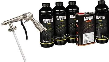 Upol Raptor Schwarz Pick Up Transportflächen Fahrzeug Beschichtung Schwarz 3 79 Liter Allora Unterbodenschutzpistole Auto