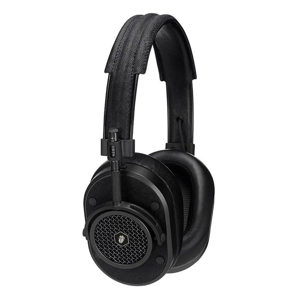 ROLLING STONES ローリングストーンズ Limited Edition MH40 Headphones Master&DynamicxThe Rolling Stones / Black Metal / Black Leather / イヤホンヘッドホン 【公式 / オフィシャル】 B01M9DCVMX