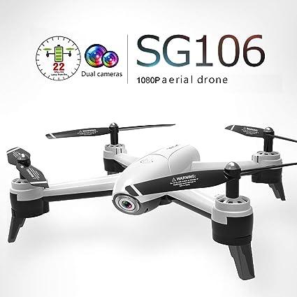 WOSOSYEYO SG106 RC Drone con 1080P HD cámara Dual FPV WiFi en ...