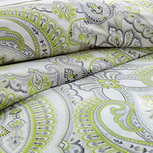 Southshore Fine Linens - The Pure Melody Collection - Comforter Sets, 3 Piece Set, Full/Queen, Green