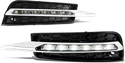 10-15 Chevy Cruze Clear Factory Style Bumper Fog Lights Kit Bezel Switch Wiring