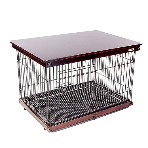 Casetas y cajas para perros Mascota jaula para perros jaula para ...