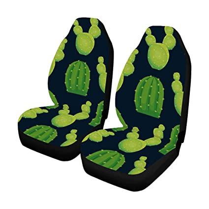 Superb Amazon Com Interestprint Cactus Front Car Seat Covers Set Gmtry Best Dining Table And Chair Ideas Images Gmtryco