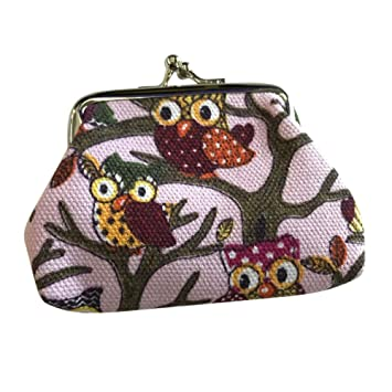 Amazon.com: Mikey Store - Monedero para mujer, estilo retro ...