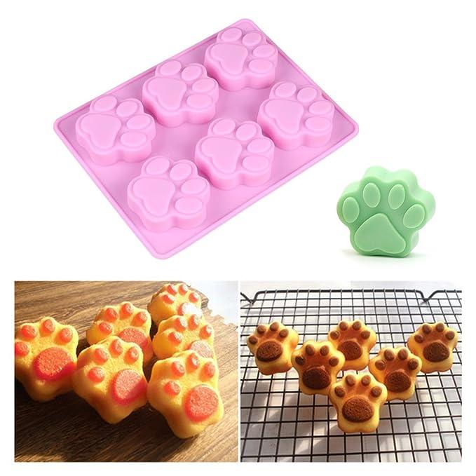 VEVICE - 6 Moldes para Decoración de Pasteles, Jabón, Chocolate, Cocina: Amazon.es: Hogar