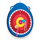 B.toys比乐 搭扣飞靶 大嘴鲨鱼 粘粘布质动物造型飞靶 婴幼儿童益智玩具 礼物 3岁+BX1638Z