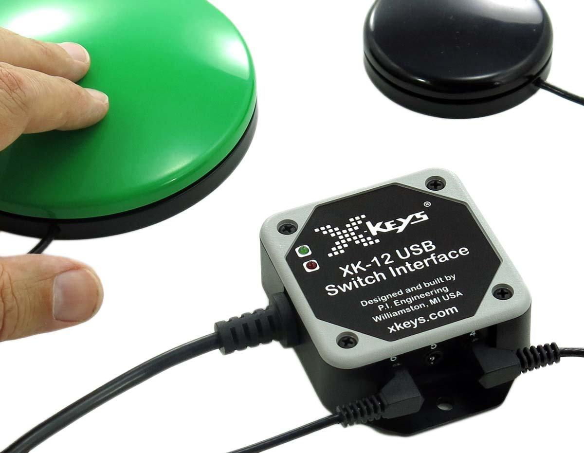 X-keys USB Switch Interface (PC/Mac/Mobile)