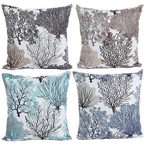 hosl-p112-4-pack-beautiful-fashionable-design-square-decorative-throw-pillow-case-cushion-cover-tree