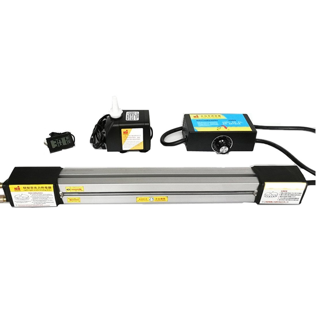 Acrylic Lightbox Plastic PVC Bending Machine 23.6 in(60cm) Acrylic Heater Bender AC 110V for Device Advertising Signs and Light Box