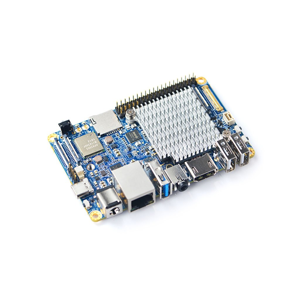 FriendlyElec NanoPC-T4 Open Source RK3399 ARM Development Board LPDDR4 RAM 4GB Gbps Ethernet,Support Android and Ubuntu, AI and deep Learning