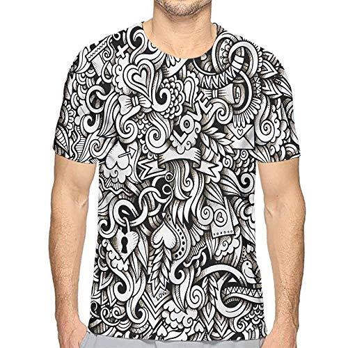 (Comfort Colors t Shirt Romantic,Winged Hearts t Shirt XXL)