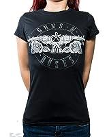 Rock Off Damen T-Shirt schwarz schwarz