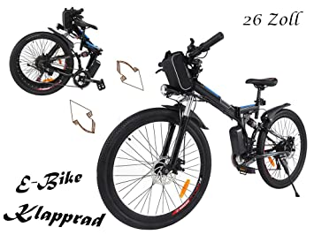 e bike 26 zoll sports electric bikes find offers online. Black Bedroom Furniture Sets. Home Design Ideas