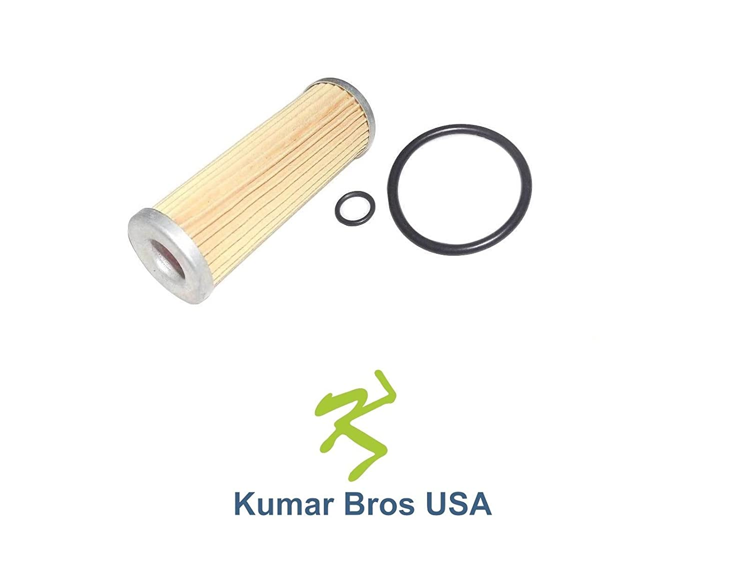 1T021-43560 15231-43562 New Kubota Fuel Filter with O-Rings 15231-43560