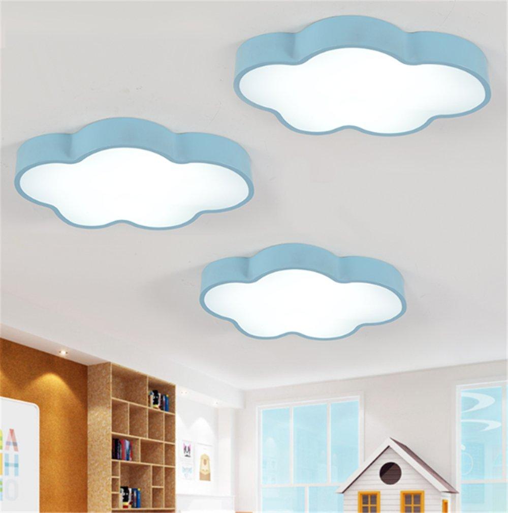 Kinderzimmerlampe 60CM Blau Wolke Farbwechsel Babylampe Wolken ...