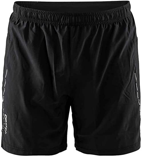 "Mens Mesh Shorts Double Layer Athletic Fitness Workout Gym 7/"" Short Inseam"