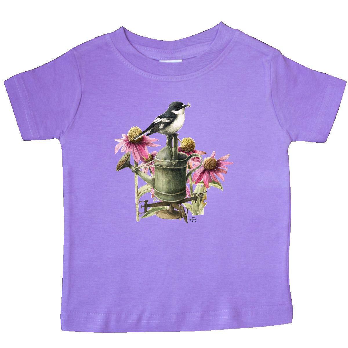 Marjolein Bastin inktastic Bird and Flowers Baby T-Shirt