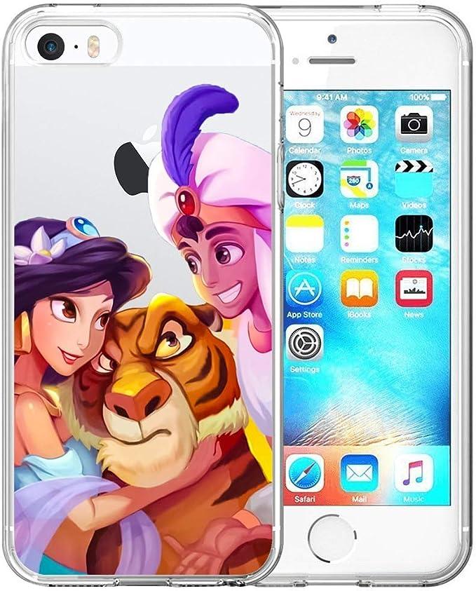 Disney Collection Coque Transparente pour iPhone 5/5S/iPhone Se ...