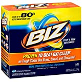 BIZ Stain & Odor Eliminator Laundry Detergent Powder (80 oz.)