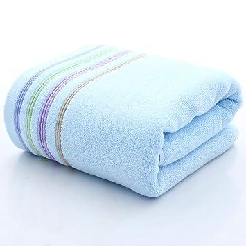 ZYJY Toallas de baño, Llanura de algodón Absorbente Grueso 70 * 140, una Variedad de Colores para Elegir,B: Amazon.es: Hogar