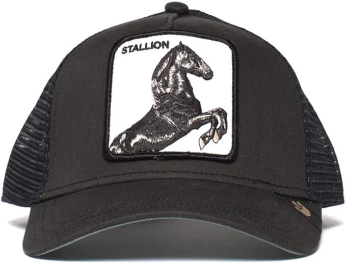 Gorra trucker negra caballo spirit Stallion