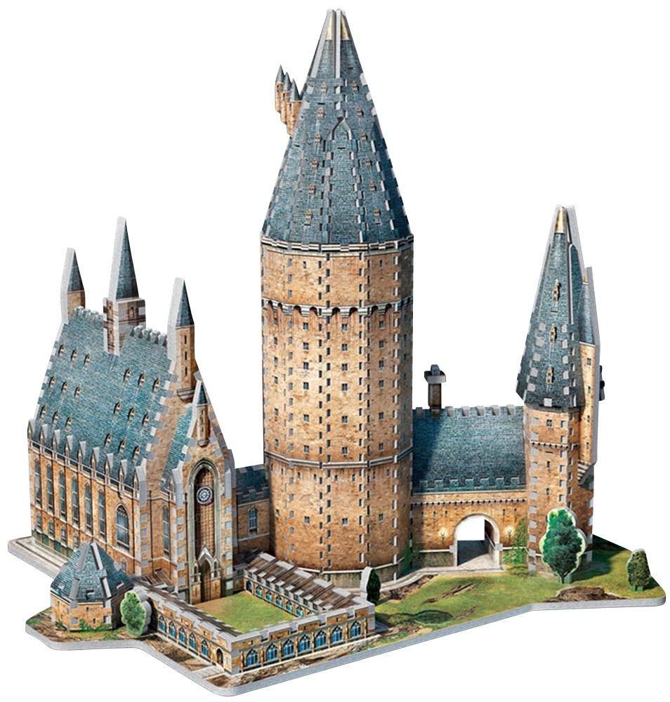 Puzzle 850 pièces - Puzzle 3D - Harry Potter : PoudlardTM - Grande Salle