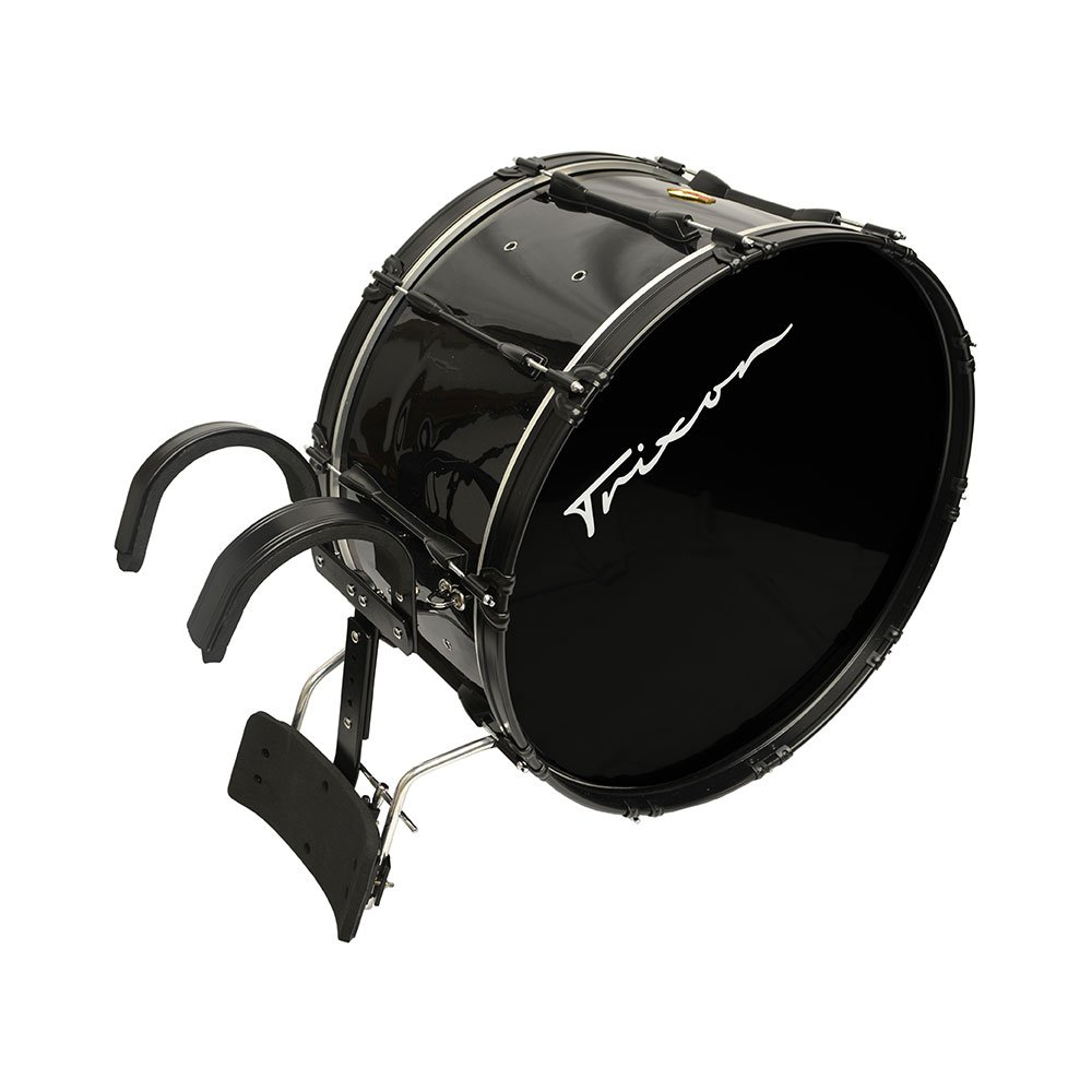 Trixon Field Series Pro Marching Bass Drum 28'' x 14'' - Black Polish
