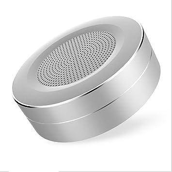 GF&EL Altavoz InaláMbrico Bluetooth con Audio HD Y Bajo Mejorado PortáTil Y Recargable, MicróFono Incorporado