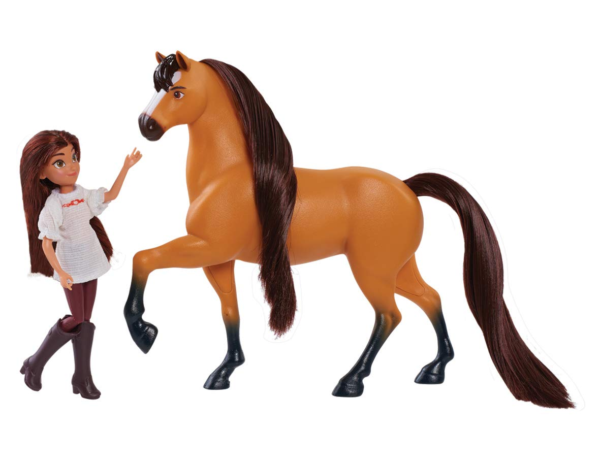 Just Play Spirit Riding Free Small Doll & Collector Lucky Horse Set, Multicolor Just Play - Import 39051