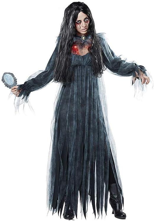 LPQSY Disfraz de Halloween Horror Ghost Dead Corpse Zombie Bride ...