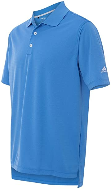 b6411393 Amazon.com: adidas Golf Men's ClimaLite(r) Solid Polo>L OASIS A170: Sports  & Outdoors