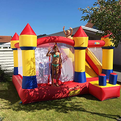 YARD Bounce House with Slide Obstacle Children Outdoor Jump Castle with Blower (13.1' x 12.5' x 8.2') by YARD (Image #1)