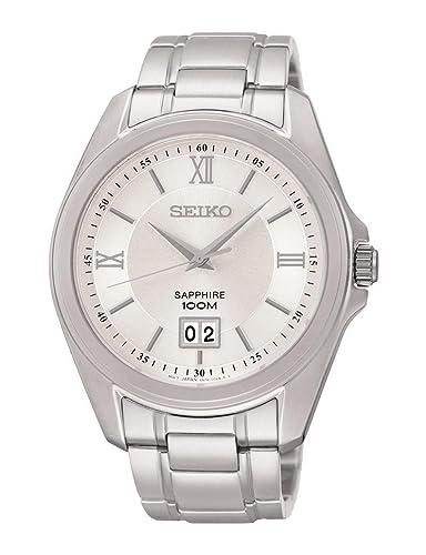 ca60070e76f2 Reloj Seiko Neo Classic Sur097p1 Hombre Blanco  Amazon.es  Relojes