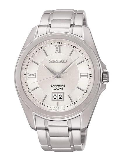 Reloj Seiko Neo Classic Sur097p1 Hombre Blanco