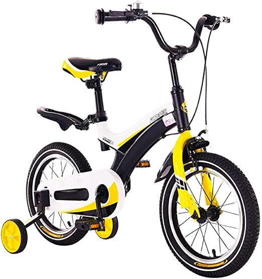 DT niños Bicicleta 2-3-4-6-7-8-9-10 años Pedal de bebé de ...