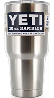 Yeti Rambler Stainless Steel Tumbler With Lid - 20 oz and 30 oz by Yeti