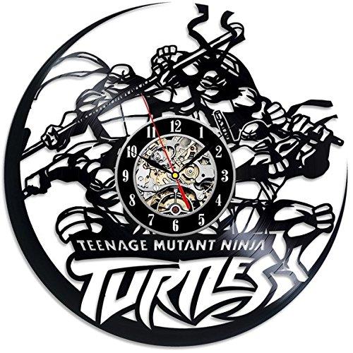 Gullei.com Tema Tortugas Ninja Creative Reloj de Pared en ...