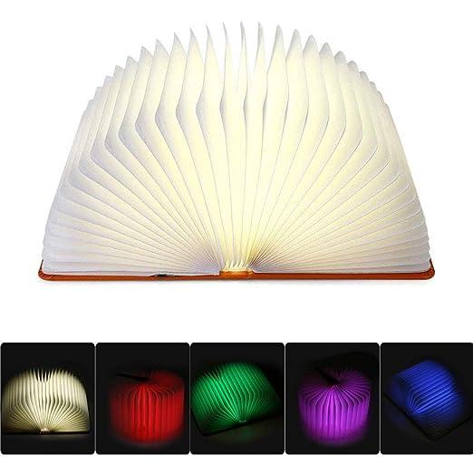 tatuer plegable LED libro lámpara, iluminación con 2500 mAh ...