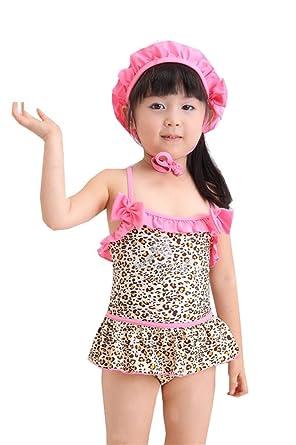 Amazon.com: iLoveSIA (T) las niñas Kids Swimwear Traje de ...