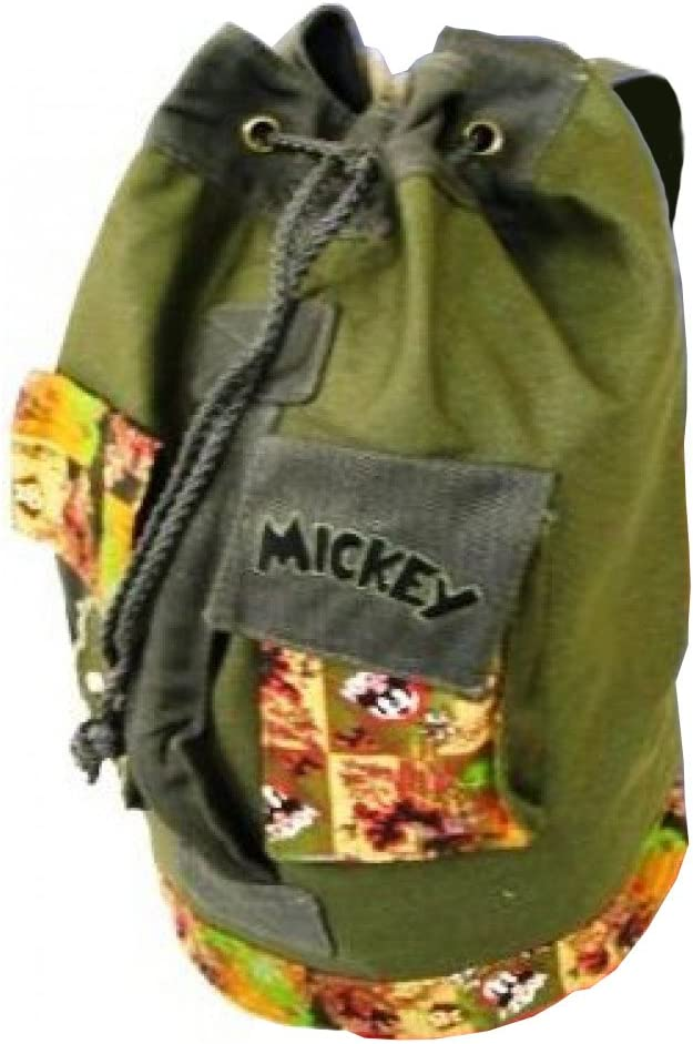 Disney Mickey Mouse Retro Canvas Duffle Bag