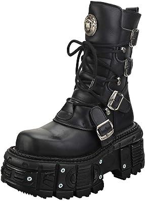 Punk and Rock Unisex Platform Boots