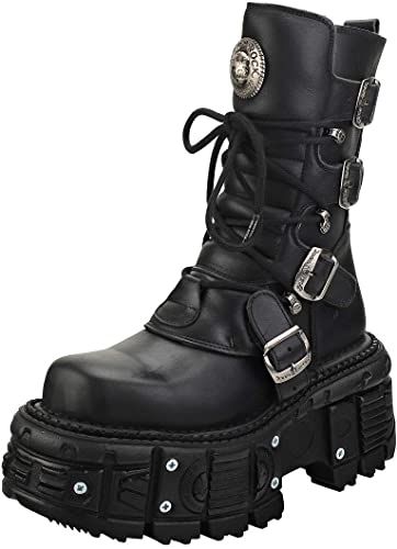 hot new products online retailer reliable quality Amazon.com | New Rock New Punk and Rock Unisex Platform Boots | Shoes