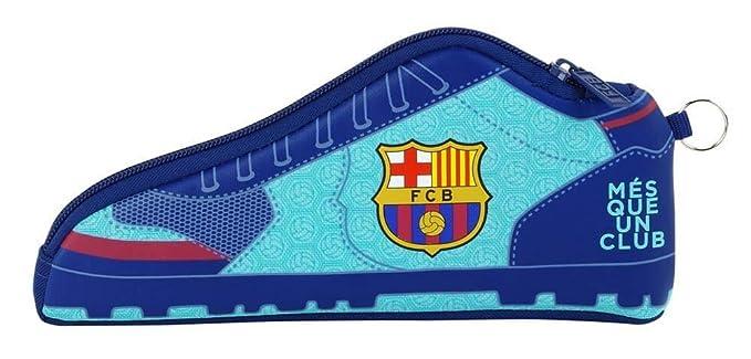 Safta Estuche FC Barcelona 2ª Equipacion 17/18 Oficial Escolar 240x20x100mm